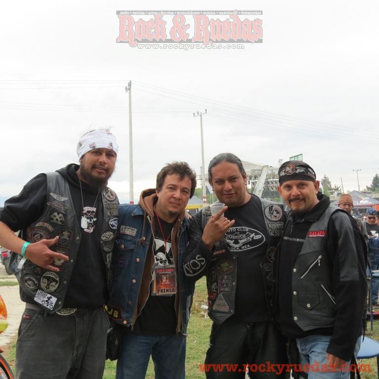 MC Cuervos en Almoloya Biker Fest