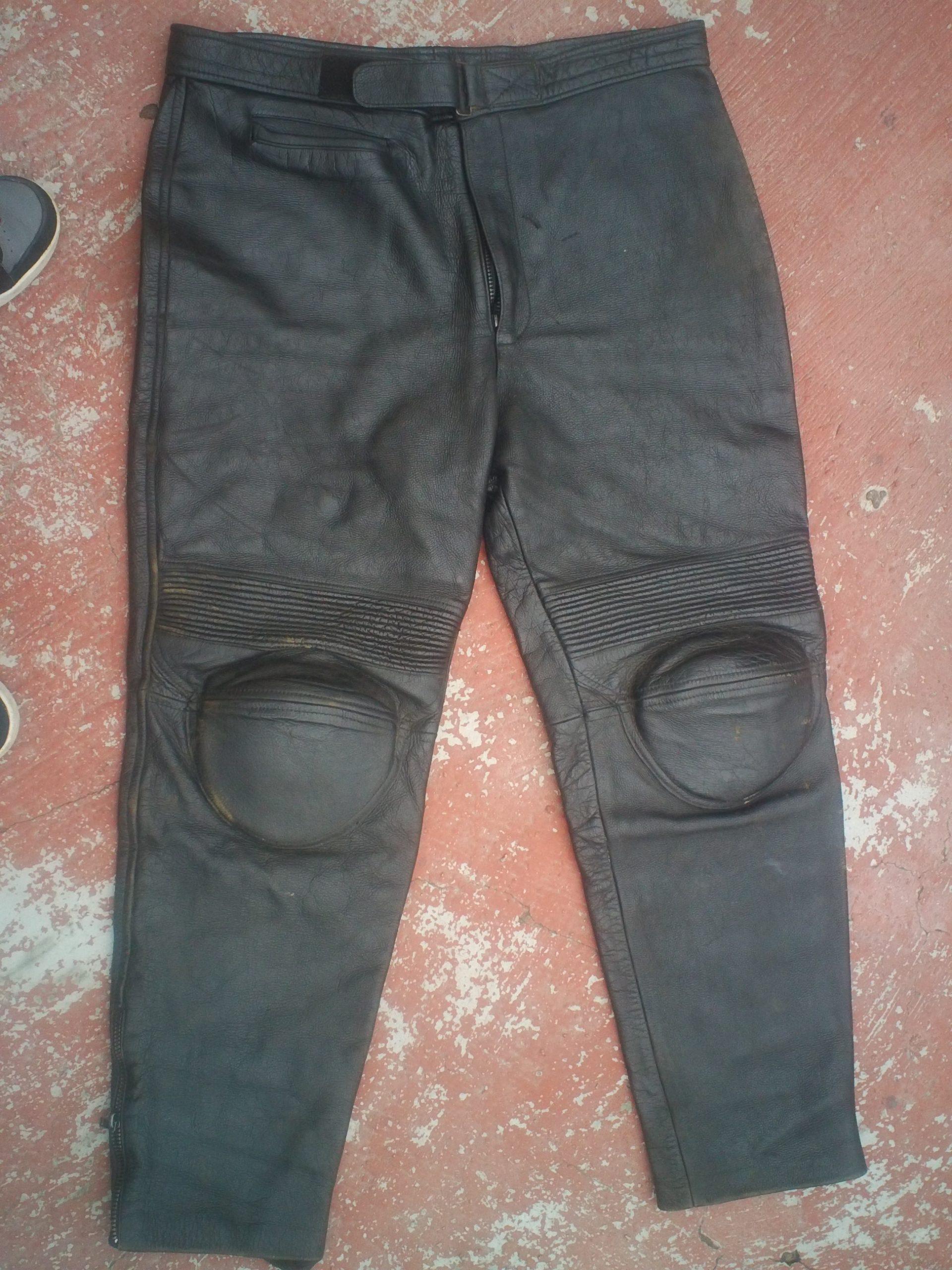 Pantalon de Piel gruesa para Motociclista