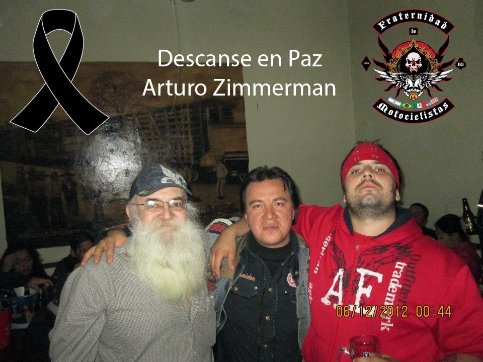 Descansa en Paz Arturo Zimmermann