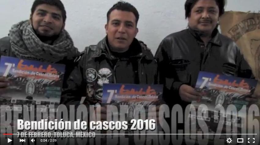 Bendición de Cascos Toluca, Estado de México
