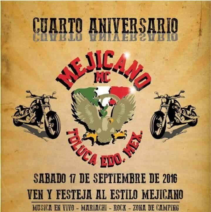 4o Aniversario MC Mejicano, Toluca, México