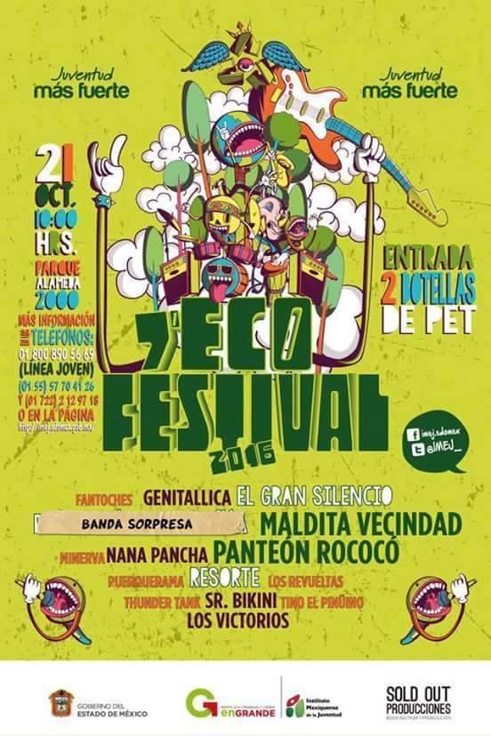 ECOFEST 2016 en Toluca!!