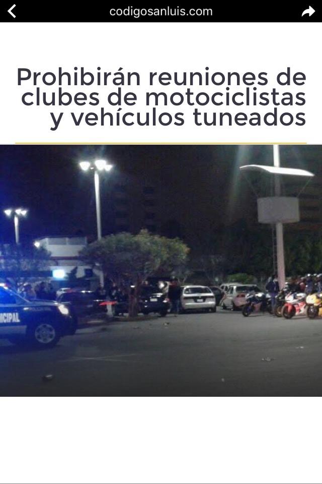 Prohibirán reuniones de motociclistas en SLP