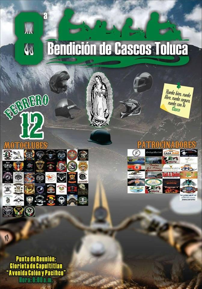 Ya viene: 8a. Bendición de Cascos Toluca 2017