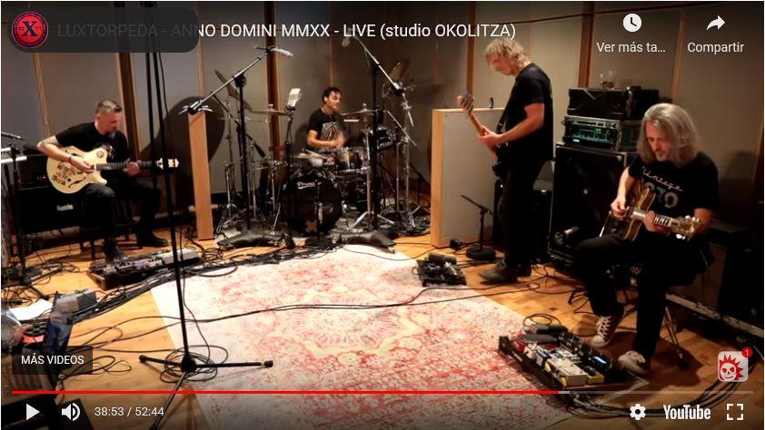 LUXTORPEDA – ANNO DOMINI MMXX – LIVE (studio OKOLITZA)
